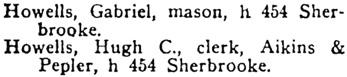 Henderson's Winnipeg City Directory, 1900, page 700.