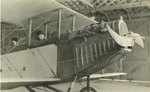 Hugh Howells in his First World War airplane; Scenes From The Past; January 21, 2017; http://pastscenes.blogspot.com/2017/01/hugh-howells.html.
