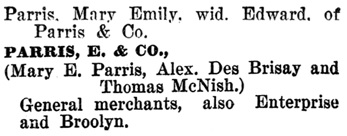 Henderson's BC Gazetteer and Directory, 1898, page 418 (Slocan City).