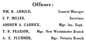 Dominion Trust Company Advertisement, Henderson's British Columbia Gazetteer and Directory for 1910, page 16; [detail].