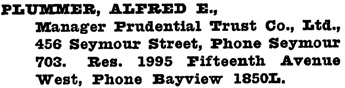 Henderson's Greater Vancouver City Directory, 1918, page 766.