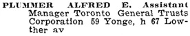 Toronto City Directory, 1900, page 727; https://archive.org/stream/torontodirec00midiuoft#page/n726/mode/1up.