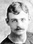 "Byron ""Barney"" Gartley; detail from photograph on ancestry.ca [while on a fire department relay team]."