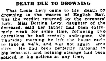Vancouver Daily World, July 24, 1918, page 4, column 6.