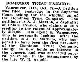 The Ottawa Journal, October 28, 1914, page 13, column 2.