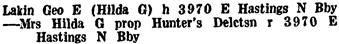 British Columbia and Yukon Directory, 1942, page 1570.
