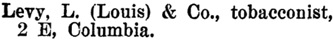 Henderson's BC Gazetteer and Directory, 1901, page 496 (Rossland).