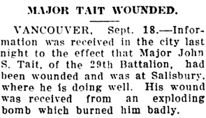 The Chilliwack Progress, September 21, 1916, page 7, column 3.