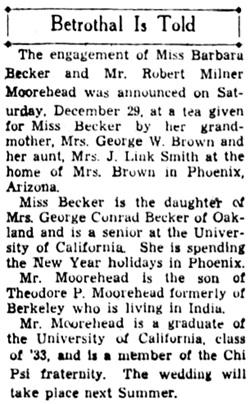 Oakland Tribune, January 1, 1935, page 7, columns 5-6.