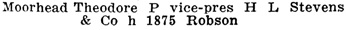 Henderson's Greater Vancouver Directory, 1912, Part 2, page 1043 [edited image].
