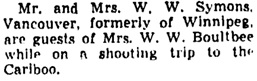 The Winnipeg Tribune, September 24, 1943, page 7, column 3.