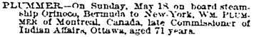 The New York Times, May 20, 1890, page 5, column 6.