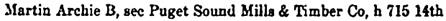 Bellingham, Washington, City Directory, 1908, page 252.
