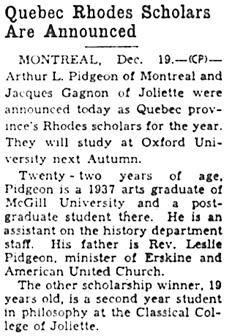 The Ottawa Journal, December 20, 1937, page 16, column 5.