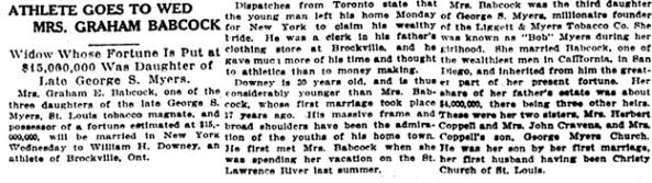 St. Louis Post-Dispatch (St. Louis, Missouri), April 8, 1913, page 3, column 1.