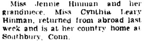The Brooklyn Daily Eagle (Brooklyn, New York), June 8, 1931, page 5, column 1.