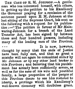 Local and General, Star, Issue 2353, 4 October 1875; http://paperspast.natlib.govt.nz/newspapers/TS18751004.2.11.