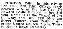 Montreal Gazette, February 10, 1959, page 39, column 8; https://news.google.com/newspapers?id=0UswAAAAIBAJ&sjid=dagFAAAAIBAJ&pg=6766%2C1882472.