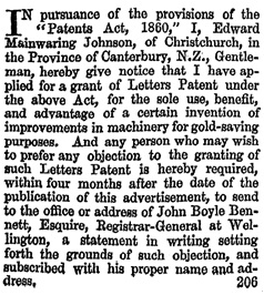 Hawkes Bay Herald, Volume 13, Issue 1095, 26 October 1869, page 2, column 1; https://paperspast.natlib.govt.nz/newspapers/HBH18691026.2.15.1.