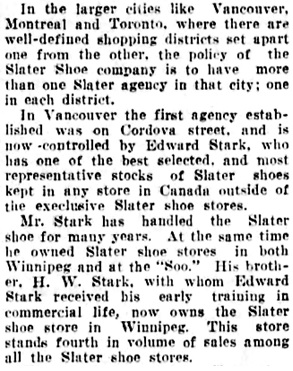 Vancouver Daily World, July 26, 1907, page 15, column 5.
