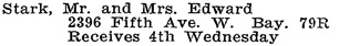 Vancouver Social Register and Club Directory, 1914, page 64.