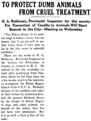 Daily News (Prince Rupert), July 17, 1911, page 4, column 1 [first portion of article]; https://open.library.ubc.ca/collections/bcnewspapers/princero/items/1.0227851#p3z-3r0f: