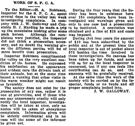 The Chilliwack Progress, June 10, 1915, page 2, column 1.