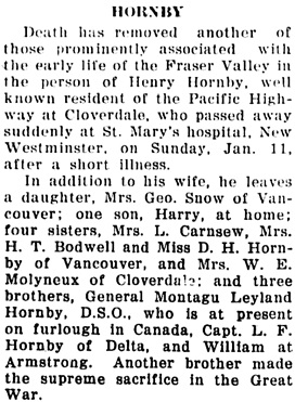 The Chilliwack Progress (Chilliwack, British Columbia, Canada), January 21, 1925, page 7, column 3.