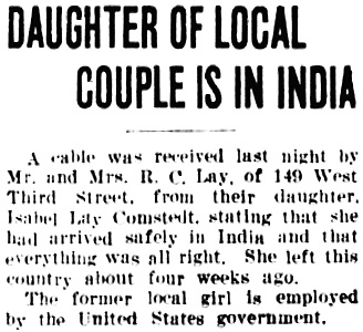 The News-Herald (Franklin, Pennsylvania), May 8, 1945, page 15, column 6.