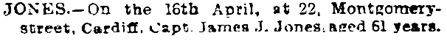 Cardiff Times, April 28, 1906, page 6, column 1; http://newspapers.library.wales/view/3427803/3427809/147/.