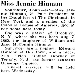 The Courier-News (Bridgewater, New Jersey), July 16, 1945, page 4, column 5.