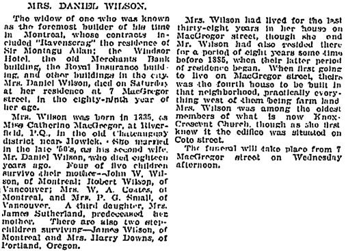 Montreal Gazette, December 3, 1923, page 4, columns 4-5; https://news.google.com/newspapers?id=dWktAAAAIBAJ&sjid=RYoFAAAAIBAJ&pg=6726%2C213327.
