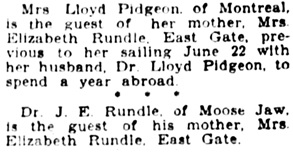 The Winnipeg Tribune, June 11, 1929, page 6, column 5.