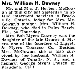 The Burlington Free Press (Burlington, Vermont), March 9, 1942, page 13, column 1.