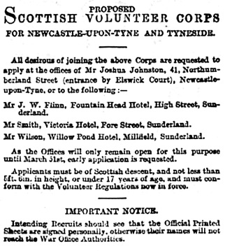 Sunderland Daily Echo and Shipping Gazette (Sunderland, England), Friday, March 30, 1900; page 2, column 5.