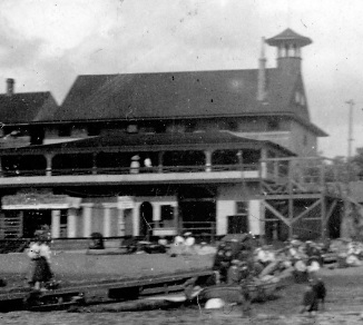 The Crescent, detail from English Bay Beach, Vancouver City Archives, about 1901, Be P97.2; http://searcharchives.vancouver.ca/english-bay-beach-12.