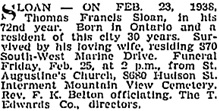 Vancouver Sun, February 24, 1938, page 13; https://news.google.com/newspapers?id=rPVlAAAAIBAJ&sjid=IYkNAAAAIBAJ&pg=1370%2C2920249; Vancouver Province, February 24, 1938, page 17 [includes correct residential address of 8704 Southwest Marine Drive].
