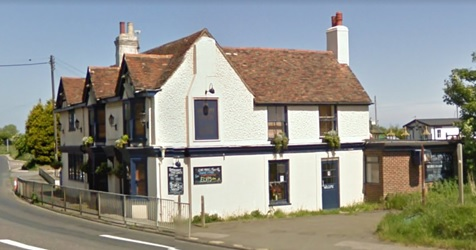 Valiant Sailor, Capel-le-Ferne, England; Google Streets, searched January 30, 2018; image dated July 2009.