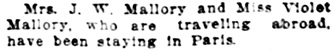 Vancouver Daily World, February 7, 1914, page 9, column 2.