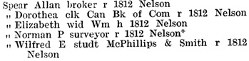 Henderson's Greater Vancouver City Directory, 1919, page 847.