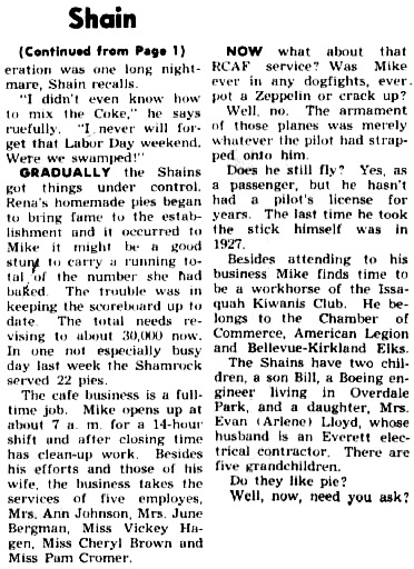 Issaquah Press( Issaquah, Washington), July 12, 1962, page 2; http://isq.stparchive.com/Archive/ISQ/ISQ07121962P02.php.