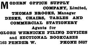 Henderson's Greater Vancouver Directory, 1911, Part 1, page 945.
