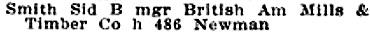 Henderson Winnipeg Directory, 1911, page 490; http://peel.library.ualberta.ca/bibliography/921.3.12/1397.html.