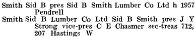 Henderson's Greater Vancouver City Directory, 1917, page 774.