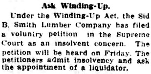 Vancouver Daily World, July 19, 1917, page 7, column 3.