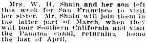 Vancouver Daily World, February 5, 1915, page 5, column 4.