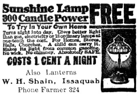 Issaquah Press, September 29, 1922, page 6, column 4; http://isq.stparchive.com/Archive/ISQ/ISQ09291922P06.php.