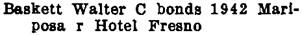 Fresno, California, City Directory, 1921, unpaged.