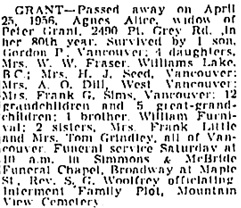 Vancouver Sun, April 26, 1956, page 28, column 4; https://news.google.com/newspapers?id=WT5lAAAAIBAJ&sjid=0okNAAAAIBAJ&pg=1288%2C5156506.