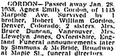 Vancouver Sun, January 29, 1958, page 36, column 3; https://news.google.com/newspapers?id=lWNlAAAAIBAJ&sjid=6IkNAAAAIBAJ&pg=1274%2C4937528.